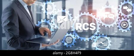 RCS. Services de communication riches. Protocole de communication entre le téléphone mobile.