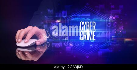 périphérique sans fil portable, concept de cyber-sécurité
