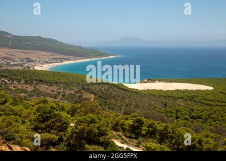 Bolonia Dune vu du point de vue est situé sur la côte atlantique de la province de Cadix (Espagne) vous pouvez voir l'Afrique les jours clairs comme il est dans le th