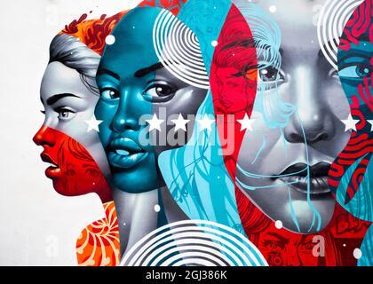 Graffiti Art Wynwood Walls Miami Floride