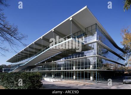 Düsseldorf, Haniel-Garage Schneider-Esleben, Architekt: Prof. Banque D'Images