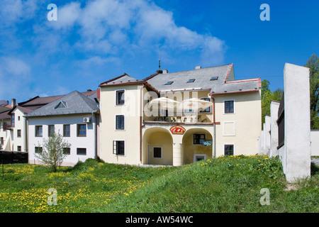 Prix: à Nove Mesto République tchèque Banque D'Images