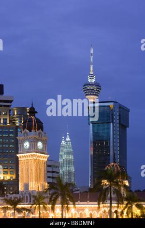 Sultan Abdul Samad building Kuala lumpur Banque D'Images