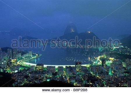 Rio de Janeiro, Brésil Banque D'Images