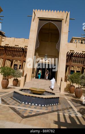 Souk Madinat Jumeirah Beach,, Dubaï, Émirats arabes unis Banque D'Images