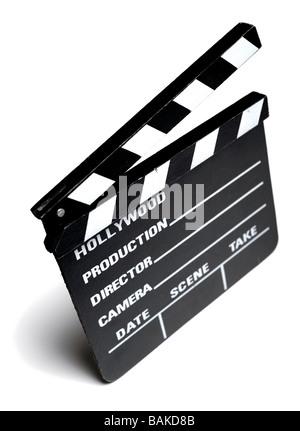 Film clapper board Banque D'Images