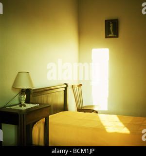 Faisceau de lumière dans la chambre Banque D'Images