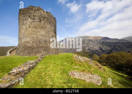 Château de Dolbadarn, Llanberis, au Pays de Galles Banque D'Images