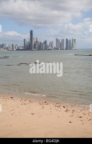 La ville de Panama, Panama, Amérique Centrale Banque D'Images