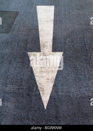 Flèche, Kingston Parking. Banque D'Images