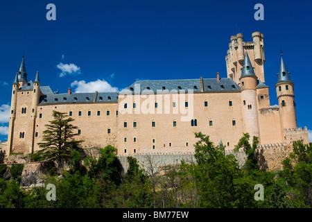 Château de Segovia, Castilla y Leon, Espagne Banque D'Images