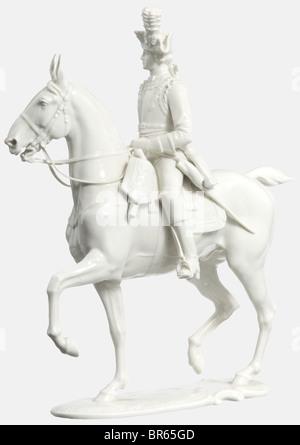 Un Seydlitz-Cuirassier Allach, agent d'usine de porcelaine Design par le professeur Theodor Kärner. Numéro du modèle Banque D'Images