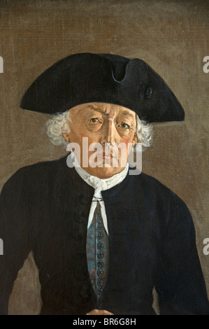 Pays-bas P. Peinture Dossier Anne Wiegers Visser 1786 Friesland Sneek Banque D'Images
