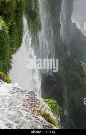 / Chutes d'Iguassu Falls / Iguaçu Falls vu de l'Argentine Banque D'Images