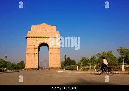 L'Inde, l'État du Maharashtra, Mumbai (Bombay), la porte de l'Inde Banque D'Images