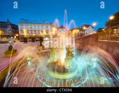Bielsko-Biala, région de Silésie, Pologne, Europe Banque D'Images