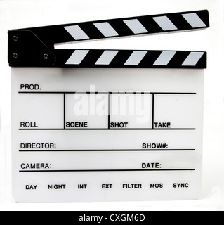 Clapper board/slate Banque D'Images
