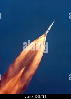 Lancement d'Apollo 11 Banque D'Images