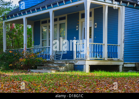 Maison typique de la Nouvelle-Angleterre à Stowe, Vermont, United States Banque D'Images