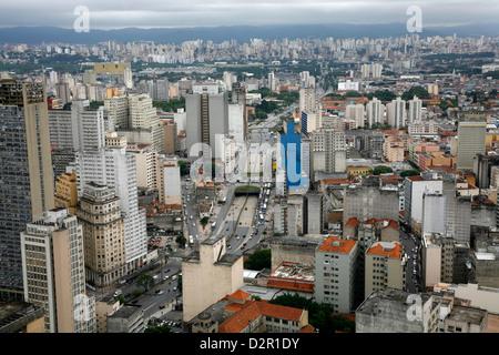 Skyline de Sao Paulo, Brésil, Amérique du Sud Banque D'Images