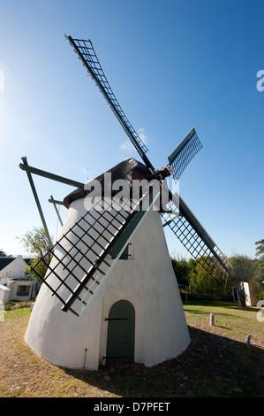 Mostert's Mill, 18e siècle, Le Cap, Afrique du Sud Banque D'Images