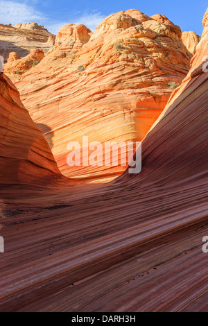Rock formations dans le Nord Coyote Buttes, partie de la Vermilion Cliffs National Monument. Cette zone est aussi Banque D'Images