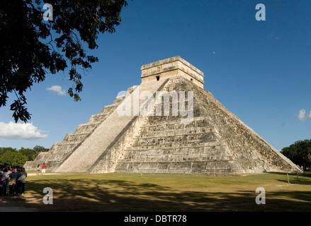 Chichen Itza, Site du patrimoine mondial de l'UNESCO, Yucatan, Mexique, Amérique du Nord Banque D'Images