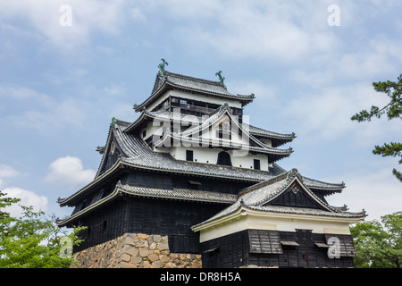 Château de Matsue, Matsue, Préfecture de Shimane, Japon Banque D'Images