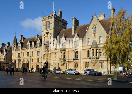 Au Balliol College, Broad Street, Oxford, Oxfordshire, Angleterre, Royaume-Uni, Europe Banque D'Images