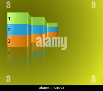 Éléments graphiques vectoriels, eps10, la transparence utilisée Banque D'Images