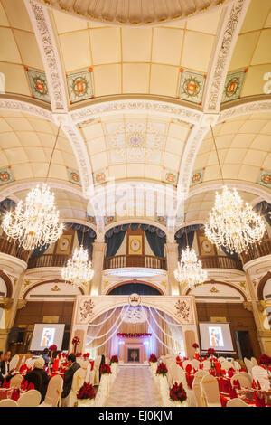 La Chine, Shanghai, l'Astor House Hotel, l'hôtel Peacock Banque D'Images