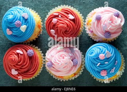 Cupcakes Banque D'Images