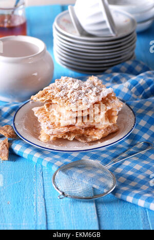 Chiacchiere - carnaval traditionnel italien sweets Banque D'Images