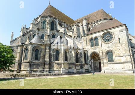 Cathédrale de Noyon Banque D'Images