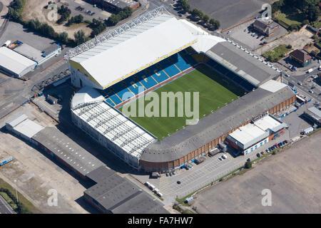 Stade Elland Road, Leeds. Vue aérienne. Accueil de Leeds United Football Club. Photographié en août 2007. Banque D'Images