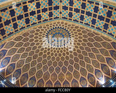 Détail architectural de Ibn Battuta Mall, le plus grand centre commercial à thème est en train de révolutionner Banque D'Images