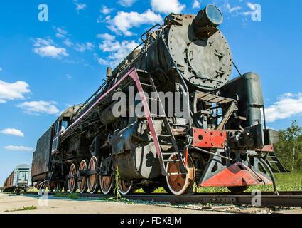 vieux vapeur Banque D'Images