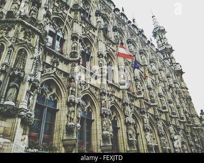 Low Angle View of Antwerp City Hall Banque D'Images