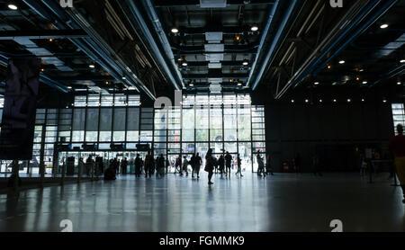 Centre Georges Pompidou en France Banque D'Images