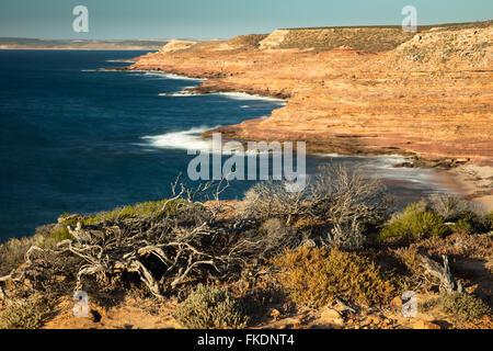 De la baie Gantheaume Eagle Lookout, le Parc National de Kalbarri, Australie occidentale Banque D'Images