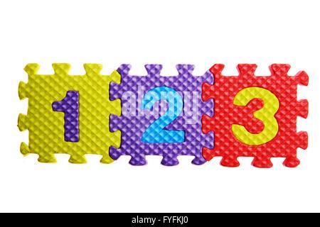 Puzzle alphabet Banque D'Images