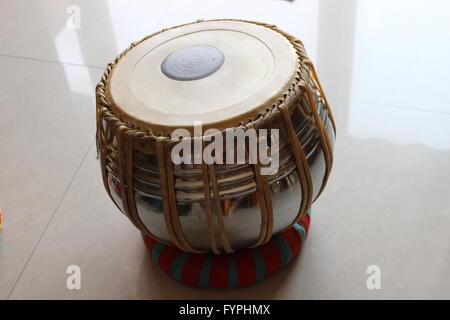 Instrument de musique classique indienne: Tabla Banque D'Images