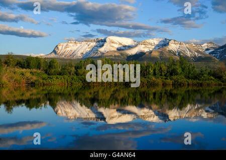 Canapé Mountain, parc national des Lacs-Waterton, Alberta Banque D'Images