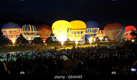 Bristol International Balloon Fiesta 2013 Banque D'Images