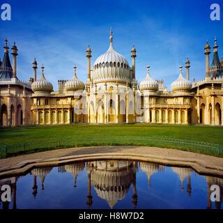 Le Brighton Pavilion. Banque D'Images
