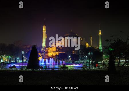 La mosquée Sainte-Sophie à Istanbul Banque D'Images