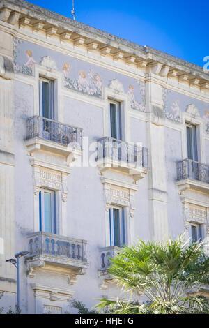 Belle Ville de Lecce dans les Pouilles, Italie Banque D'Images