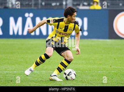 Dortmund, Allemagne Signal-Iduna Park. 18 Février, 2017. Saison 2016/17 Bundesliga allemande, journée 21, Borussia Banque D'Images