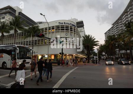 Le Ritz Carlton Miami Banque D'Images