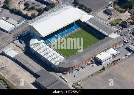 Elland Road Stadium, Leeds, West Yorkshire, 2007. Historique: L'artiste photographe personnel de l'Angleterre. Banque D'Images